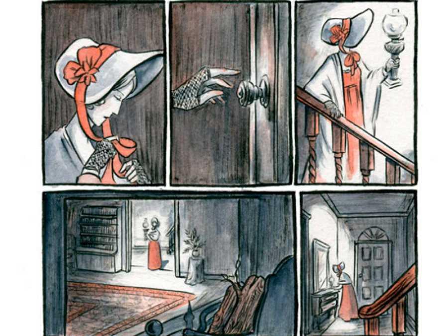 Viñetas de 'Mary Shelley: La muerte del monstruo'