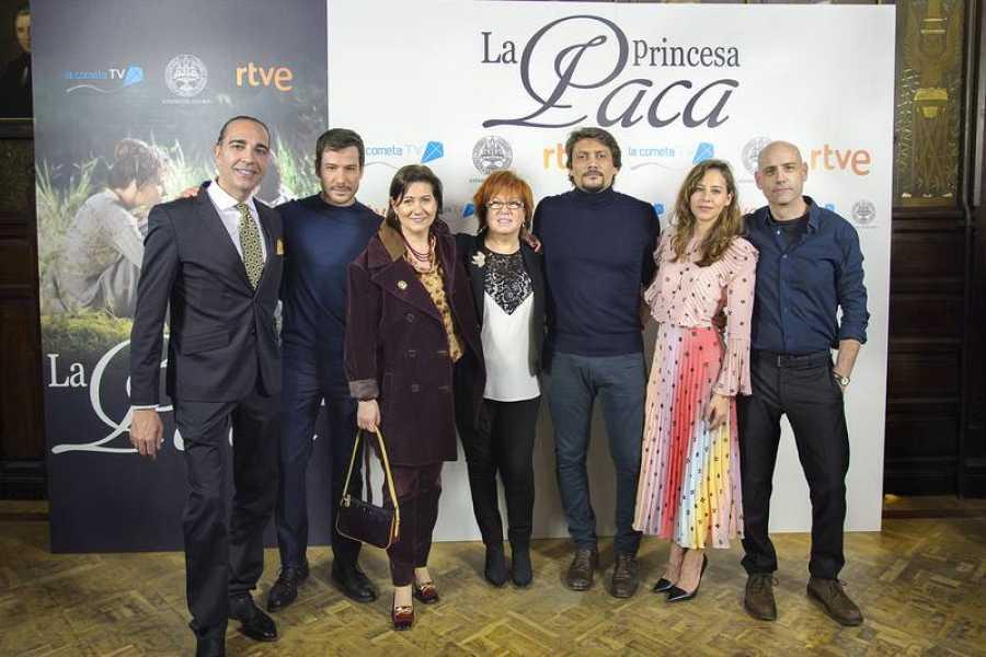 Manuel Francisco Reina, Alejandro Albarracín, Luisa Martín, Rosa Villacastín, Irene Escolar y Joaquín Llamas