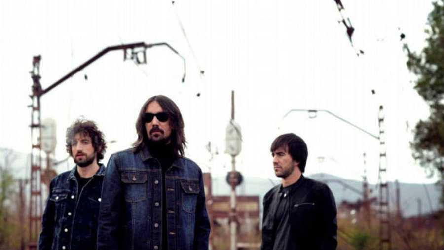Ale Méndez, Alfredo Núñez y Noni López, componentes de la banda