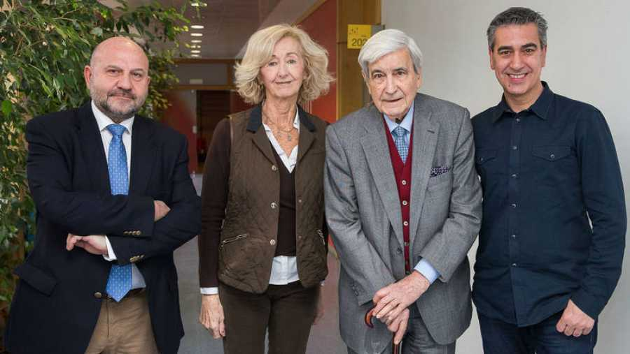 Wifredo Rincón, Paloma Sobrini, Antonio Bonet y Arturo Martín
