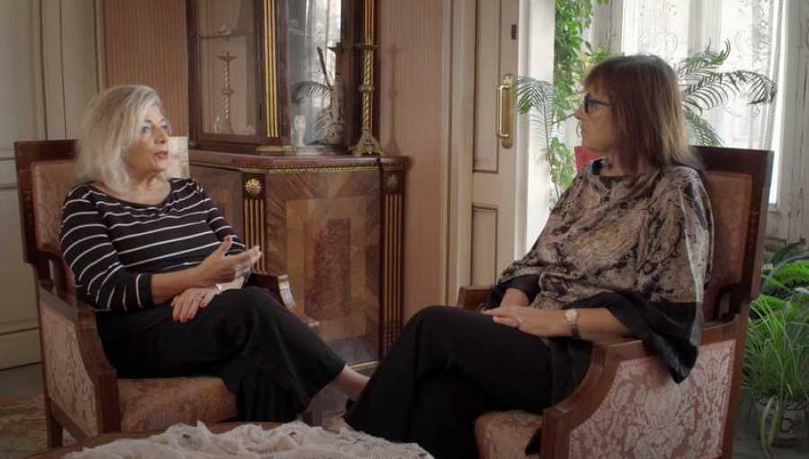 Alicia Vías y Soledad Urabayen