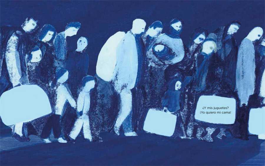 Ilustración de 'Refugiada'