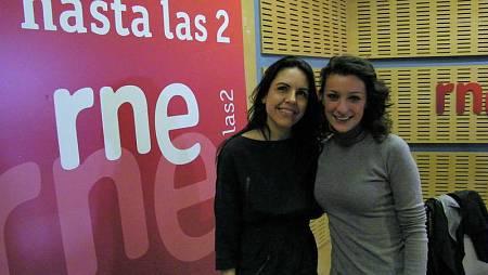 Paloma Arranz recibe a Mara Barros