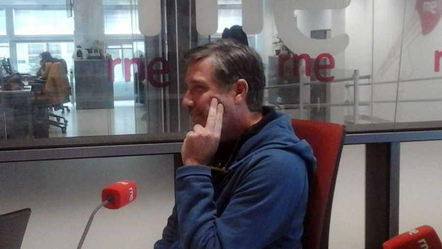 Emilio Aragón, durante la entrevista en 'Las mañanas de RNE'