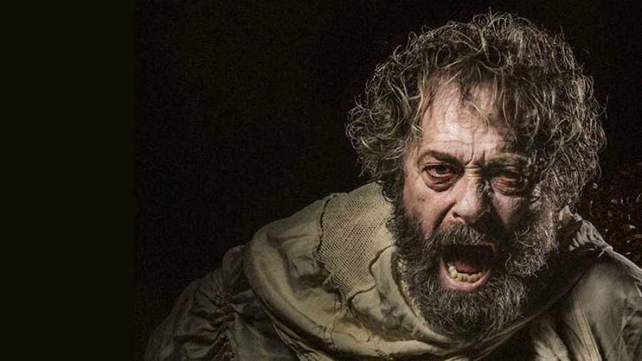 Helio Pedregal en la imagen del cartel de 'El rey Lear y yo'