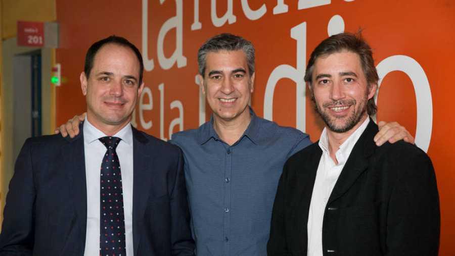Antonio Vila-Coro, Arturo Martín y Javier de Domingo