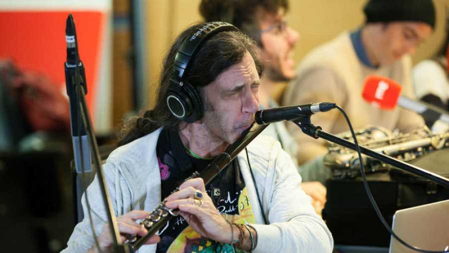 Jorge Pardo interpreta los temas de 'Metaflamenco Djinn', su nuevo disco