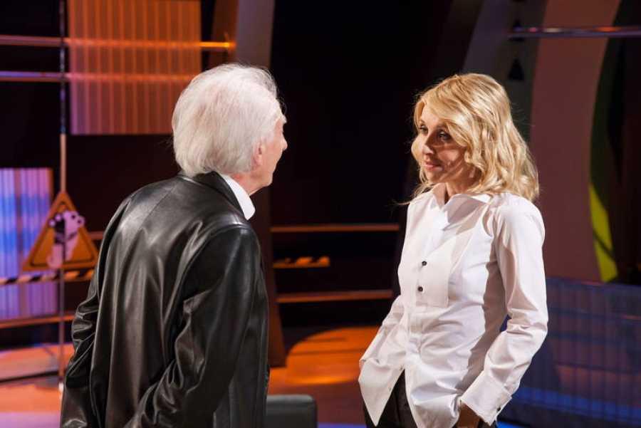 Estuvimos con Albert Boadella minutos antes de la función, charlando con él y viendo cómo se prepara para salir a escena en esta ocasión tan especial