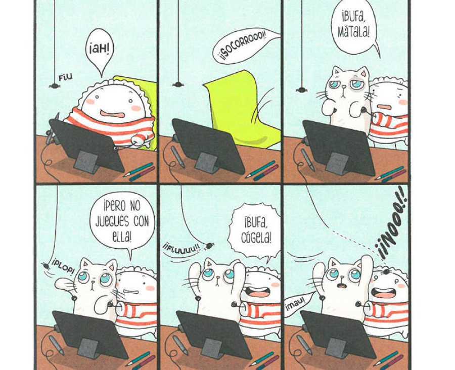 Viñetas de 'Croqueta y Empanadilla 3'