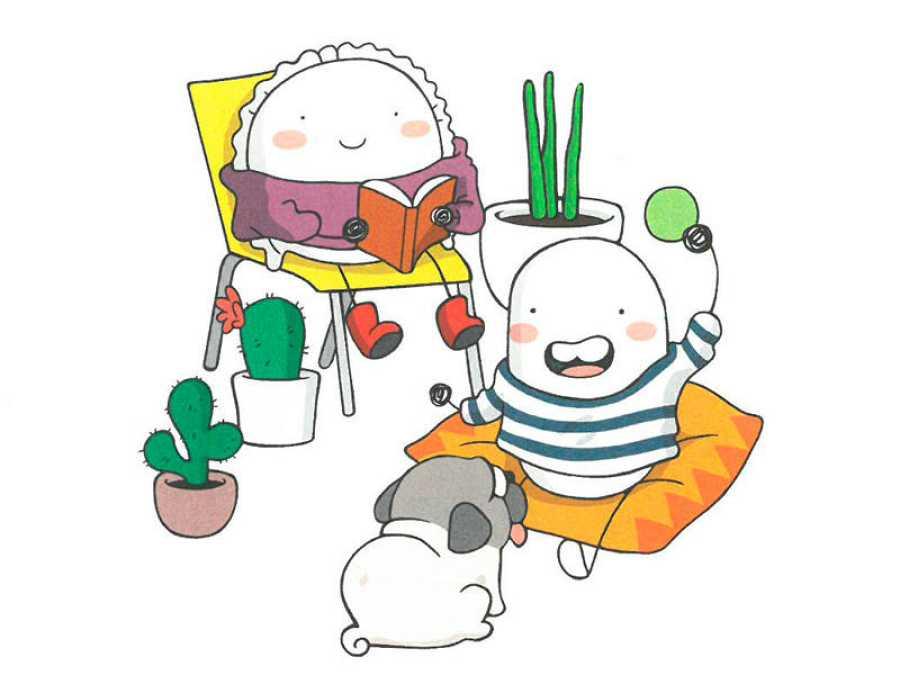 Ilustración de 'Croqueta y Empanadilla 3'