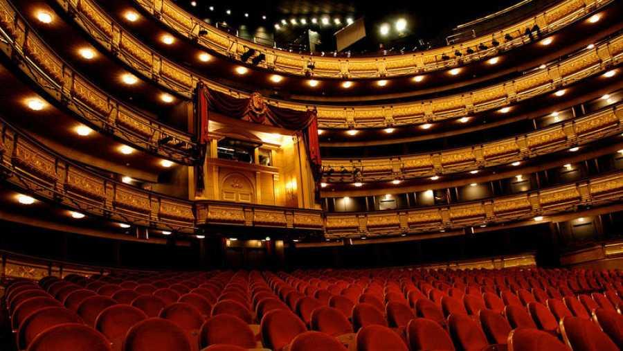 Interior del Teatro Real de Madrid