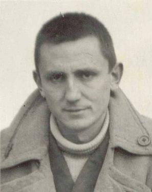 Antonio Buero Vallejo, en la época que pasó en la Cárcel de Ocaña en  1945