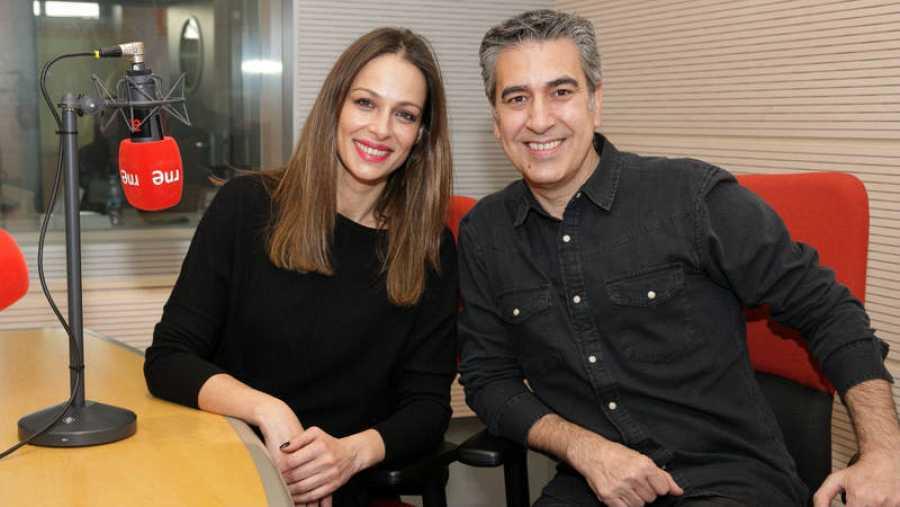 Eva González, con Arturo Martín en Rne Madrid
