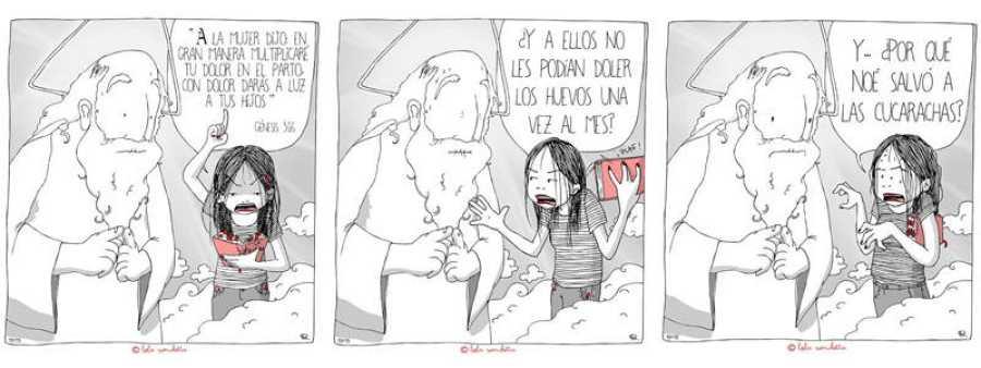 Viñetas de 'Lola Vendetta'