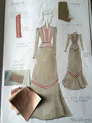 Diseño de uno de los trajes de 'Acacias 38'