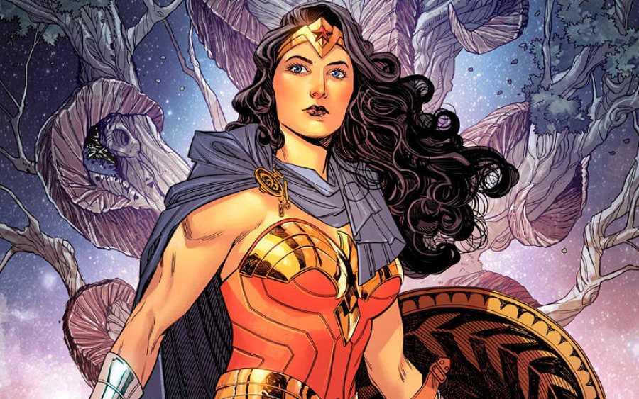 Wonder Woman dibujada por Bilquis Evely (Ecc Ediciones -Dc Comics)