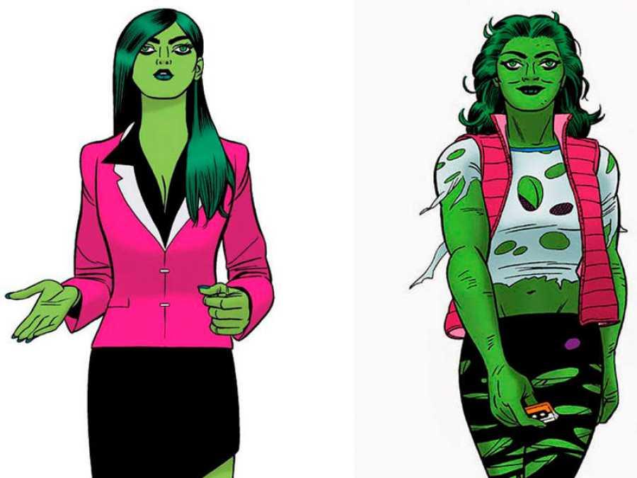 La Hulka dibujada por el español Javier Pulido (Panini-Marvel)