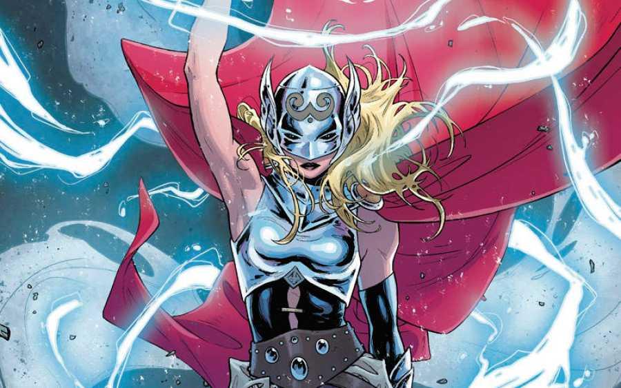 En la actualidad Thor es una mujer (Panini-Marvel)