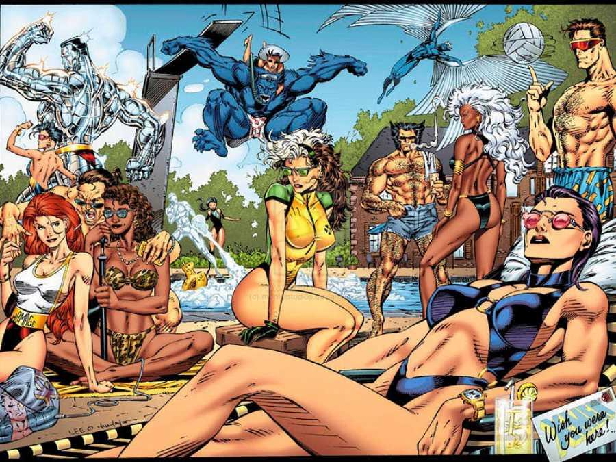 Los X-Men de los 90 por Jim Lee (Panini-Marvel)