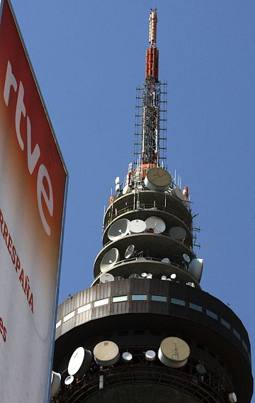 Torrespaña, centro de comunicaciones de RTVE