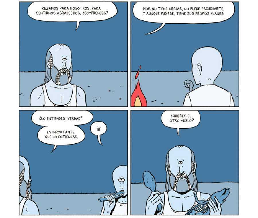 Viñetas de 'Un millón de años'