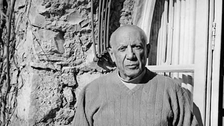 Picasso en una fotografía de 1968.