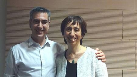 Concha Díaz, con Arturo Martín