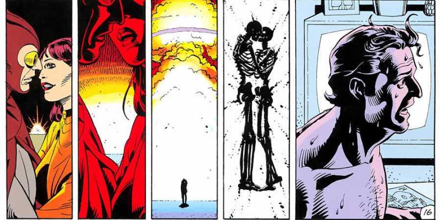 Viñetas de 'Watchmen'