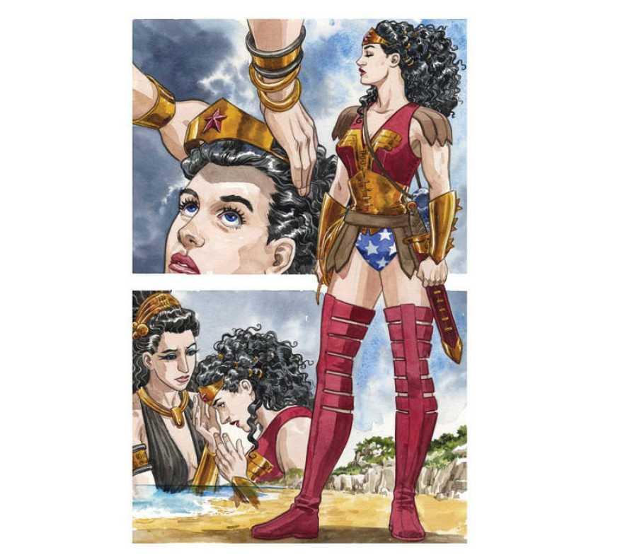 El uniforme de Wonder Woman diseñado por Jill Thompson