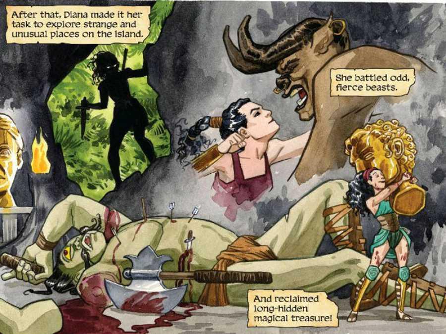 La juventud de Wonder Woman