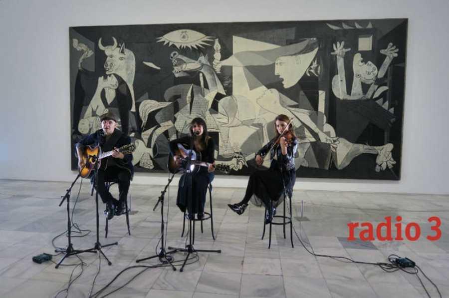 Amaral también ha participado en el proyecto 'Suena Guernica'