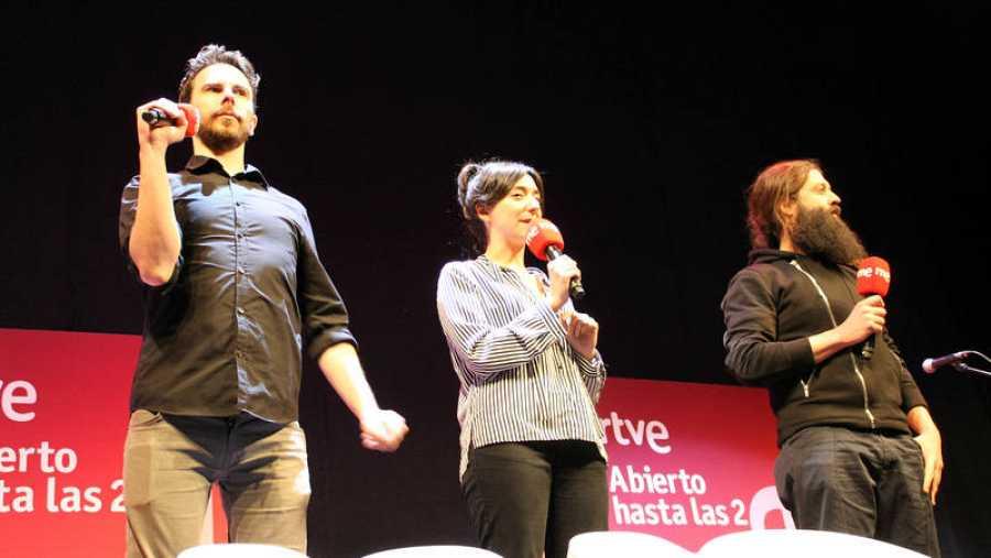 Ignacio López, Ignacio Soriano y Paloma Córdoba presentan 'Jardines'