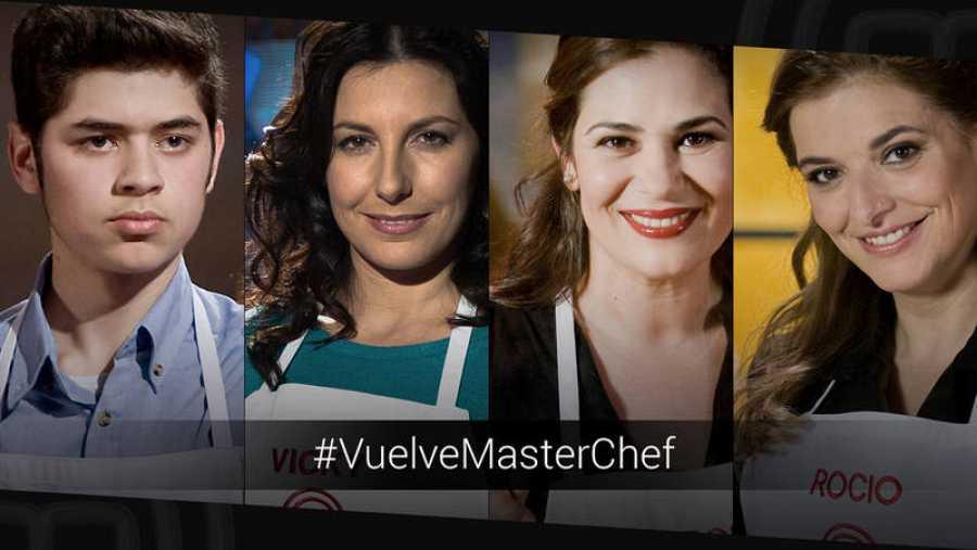 Fabián, Vicky, Virignia y Rocío ofrecerán un show cooking