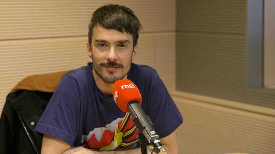 Pucho es el vocalista de la banda Vetusta Morla