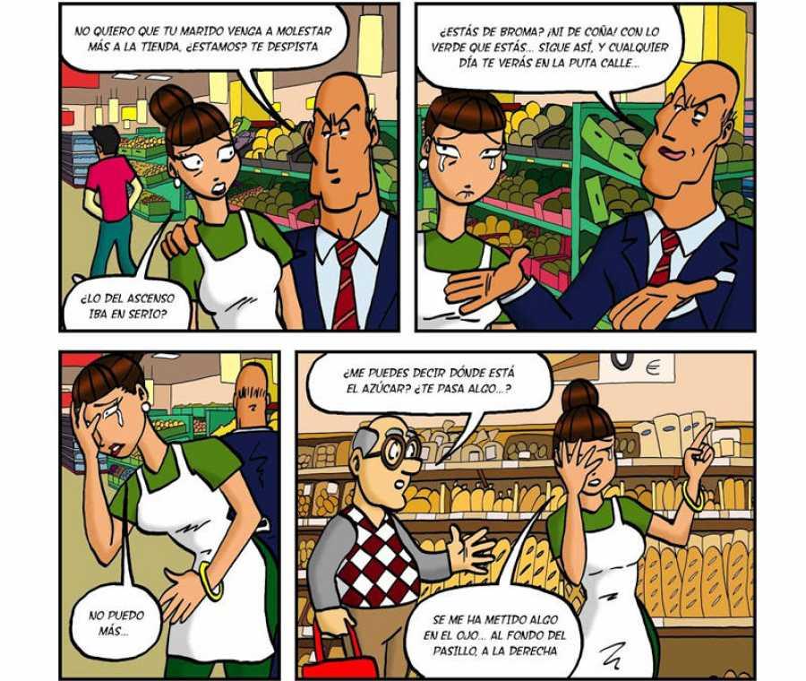 Viñetas de 'Es sólo un trabajo'