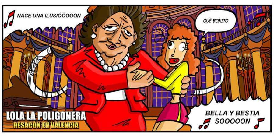 Parodia de Rita Barberá