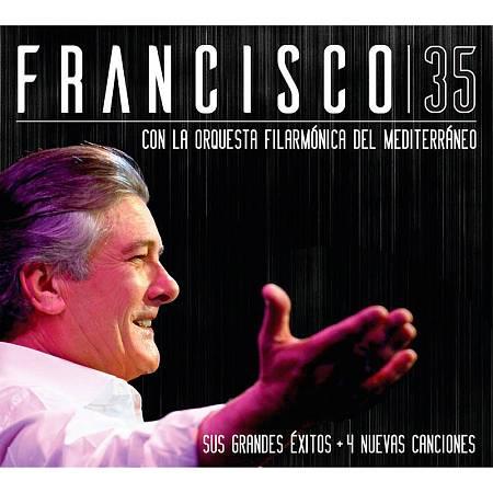 Portada del disco con el que Francisco celebra sus 35 años en la música.