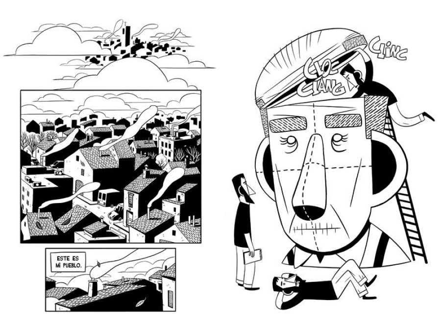 Páginas de 'Cisco. Una guerra, un país, un hombre'