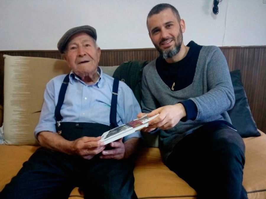 Cisco (Francesc Reig) con Josep Salvia