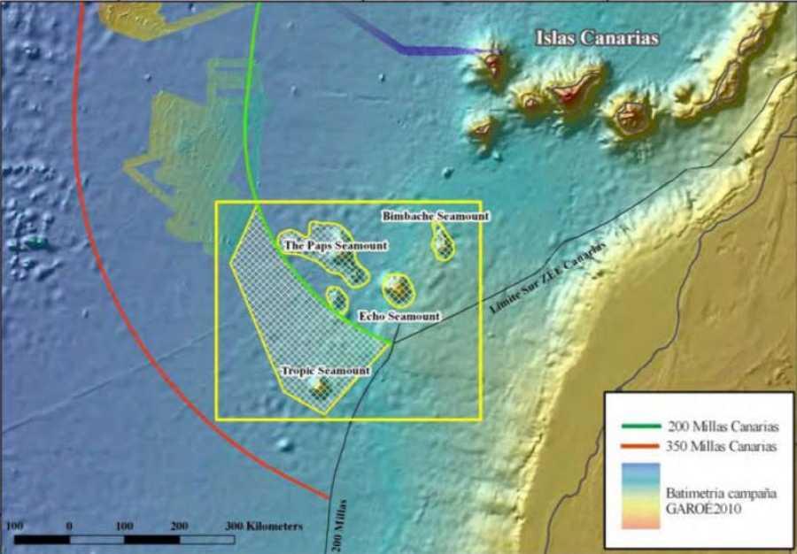 Localización de Tropic y del resto de islas que componen la llamada
