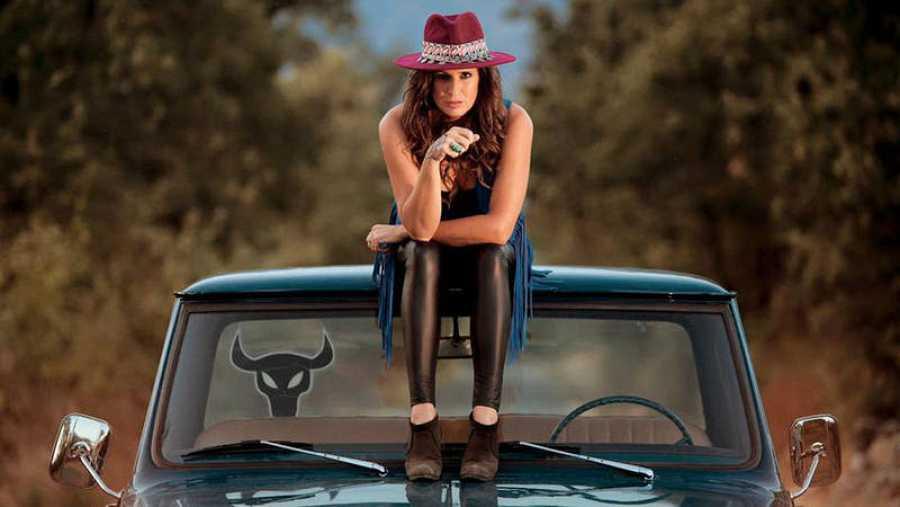 Rebeca Jiménez, en una imagen promocional de este nuevo disco