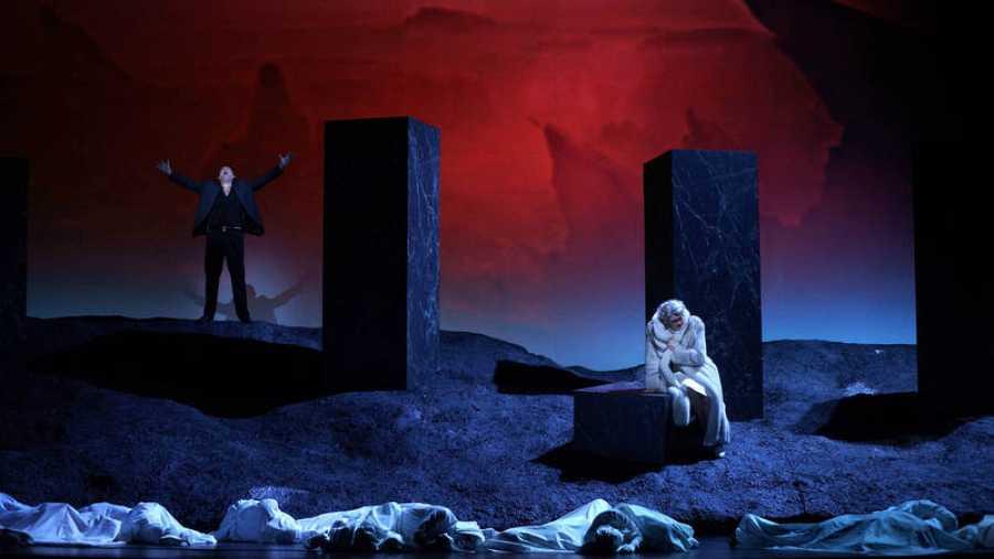 Ensayos de 'Bomarzo' en el Teatro Real
