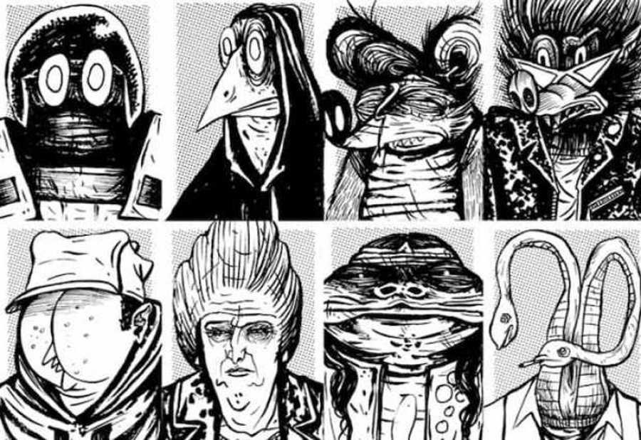 Algunos de los protagonistas de 'Desde abajo'