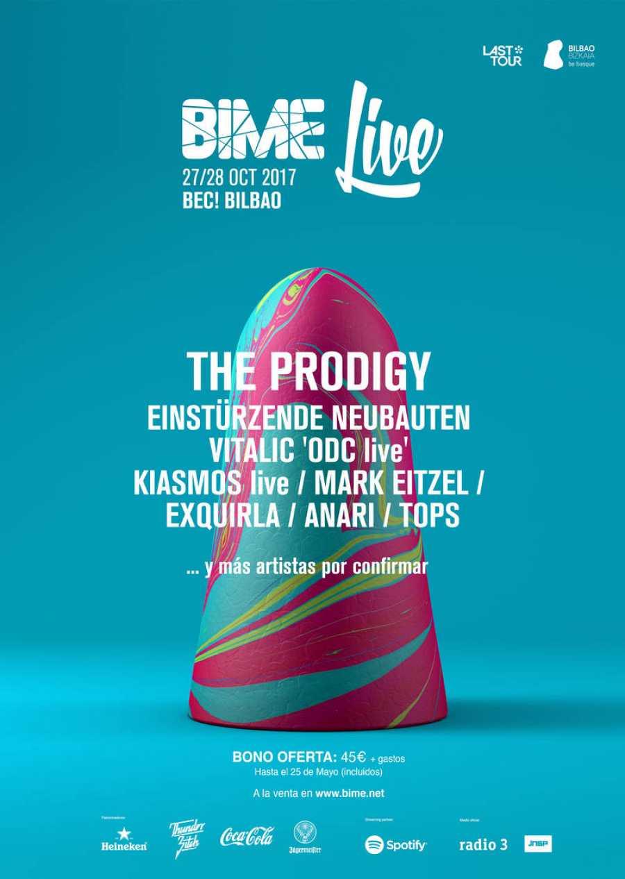 Primeros nombres del BIME Live para su edición 2017