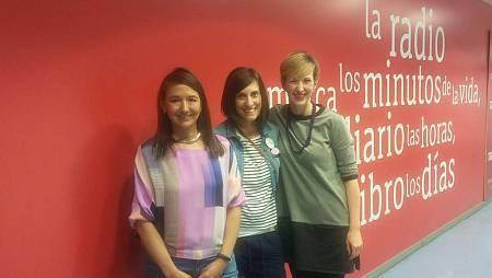 Catalina Echeverry, Diana Oliver y Mónica de la Fuente, madres blogueras