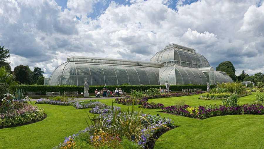 Jardín botánico de Kew en Reino Unido
