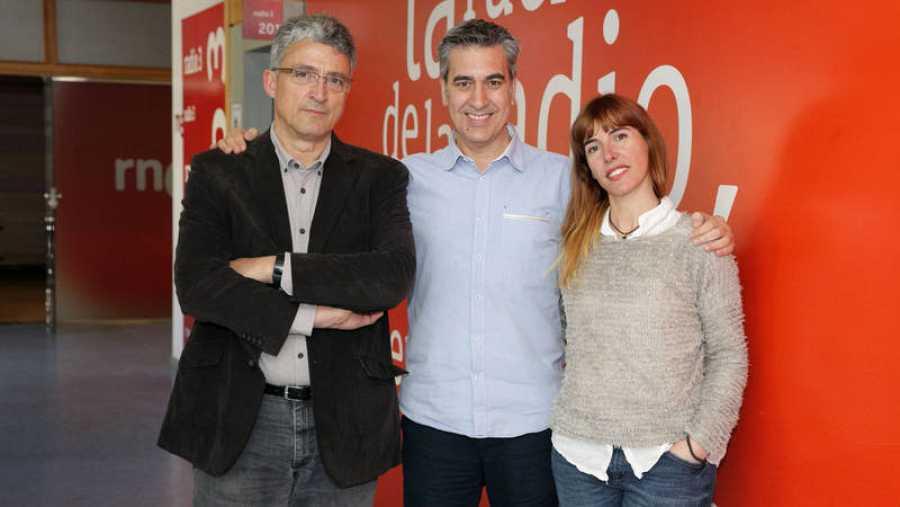 Otra imagen de nuestros últimos invitados, en Rne Madrid