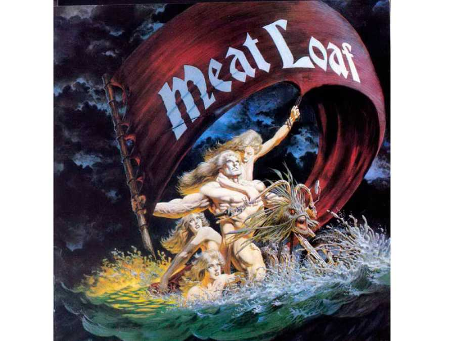 Portada del segundo disco de Meat Loaf