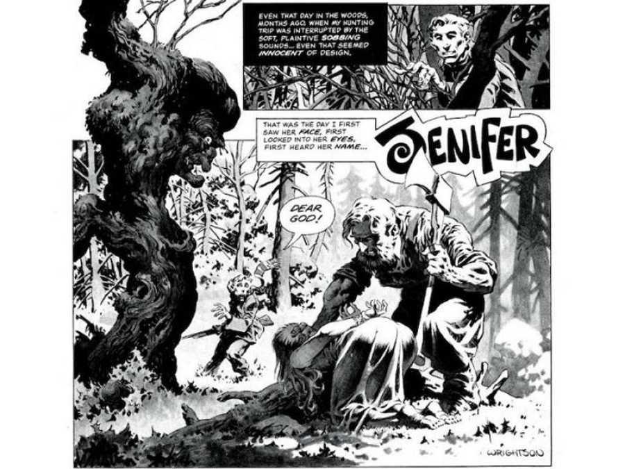 Viñetas de 'Jenifer', con guión de Bruce Jones