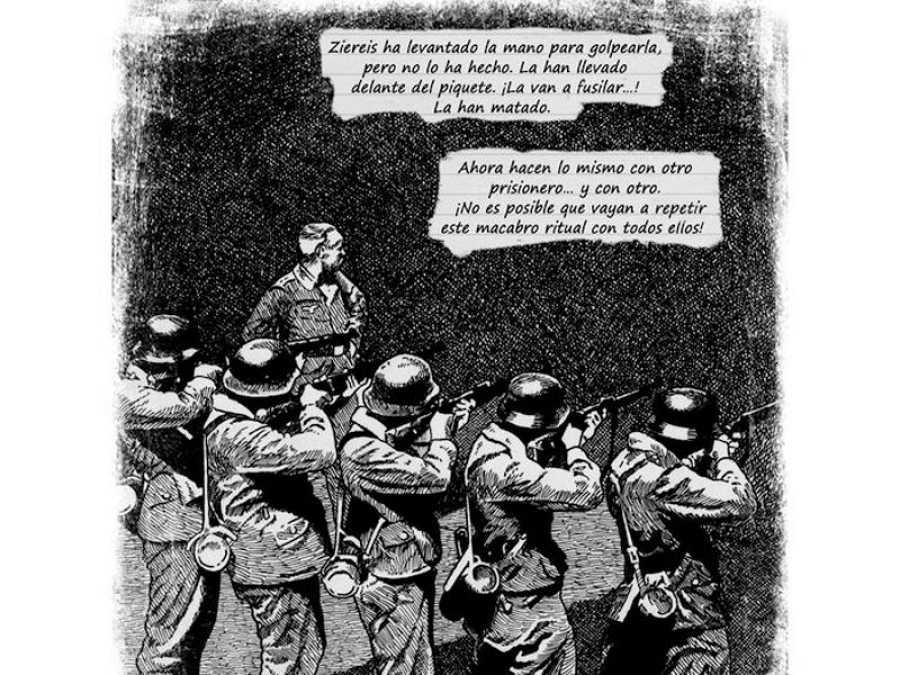 Fragmento de una página de 'Deportado 443'